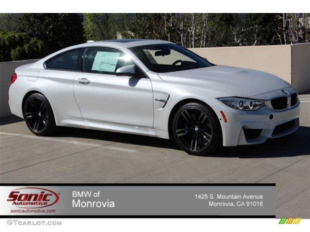 2015 Mineral White Metallic Bmw M4 Coupe 102222440 Gtcarlot Com Car Color Galleries