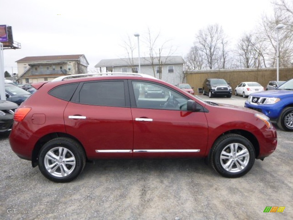Cayenne Red 2015 Nissan Rogue Select S Awd Exterior Photo 102235471