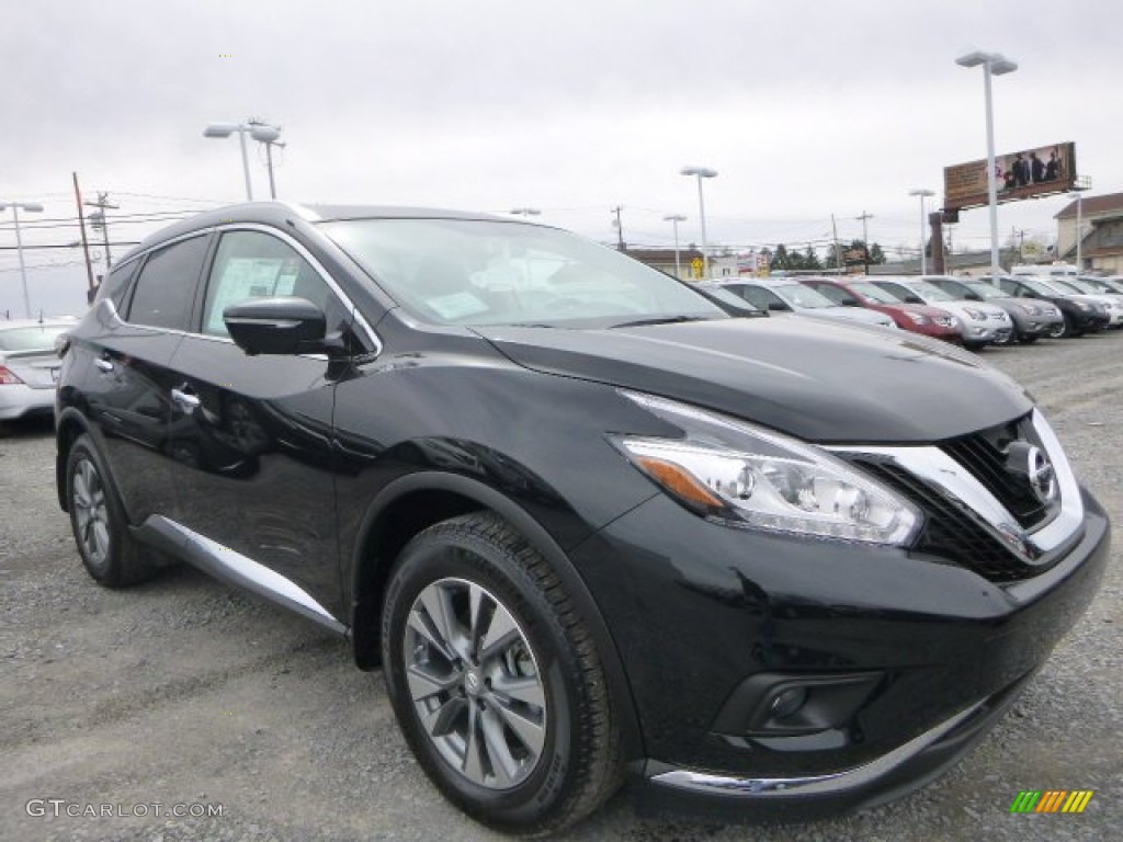 Magnetic Black 2015 Nissan Murano SL AWD Exterior Photo #102237784