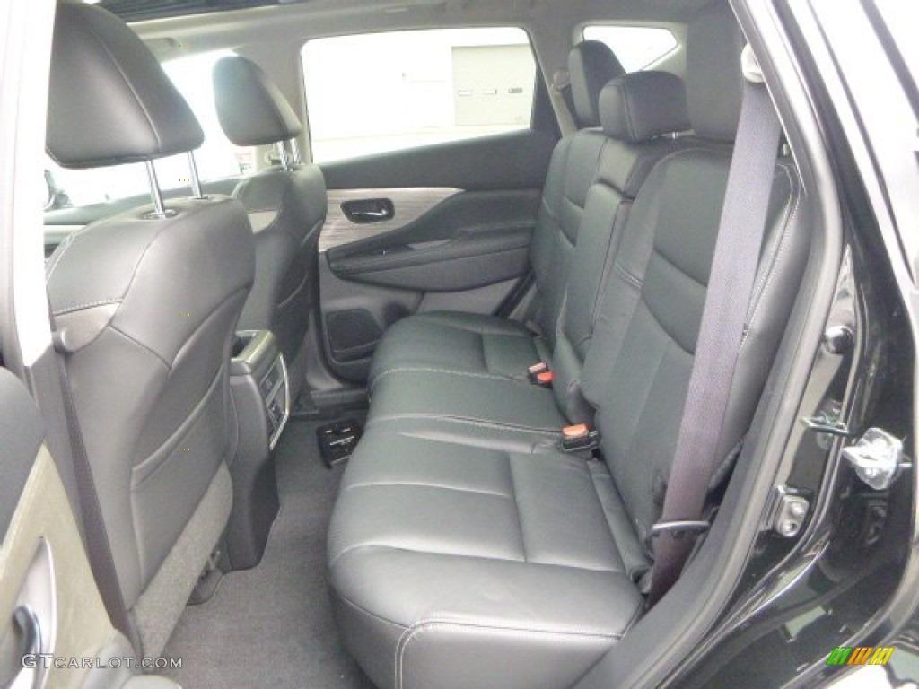 2015 Nissan Murano SL AWD Rear Seat Photos