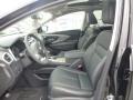 2015 Nissan Murano Graphite Interior Front Seat Photo