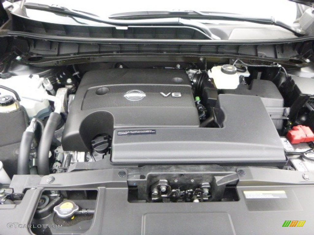 2015 Nissan Murano SL AWD 3.5 Liter DOHC 24-Valve V6 Engine Photo #102237913