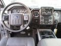 2015 Ford F250 Super Duty Black Interior Dashboard Photo