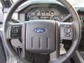 2015 Ford F250 Super Duty Black Interior Steering Wheel Photo