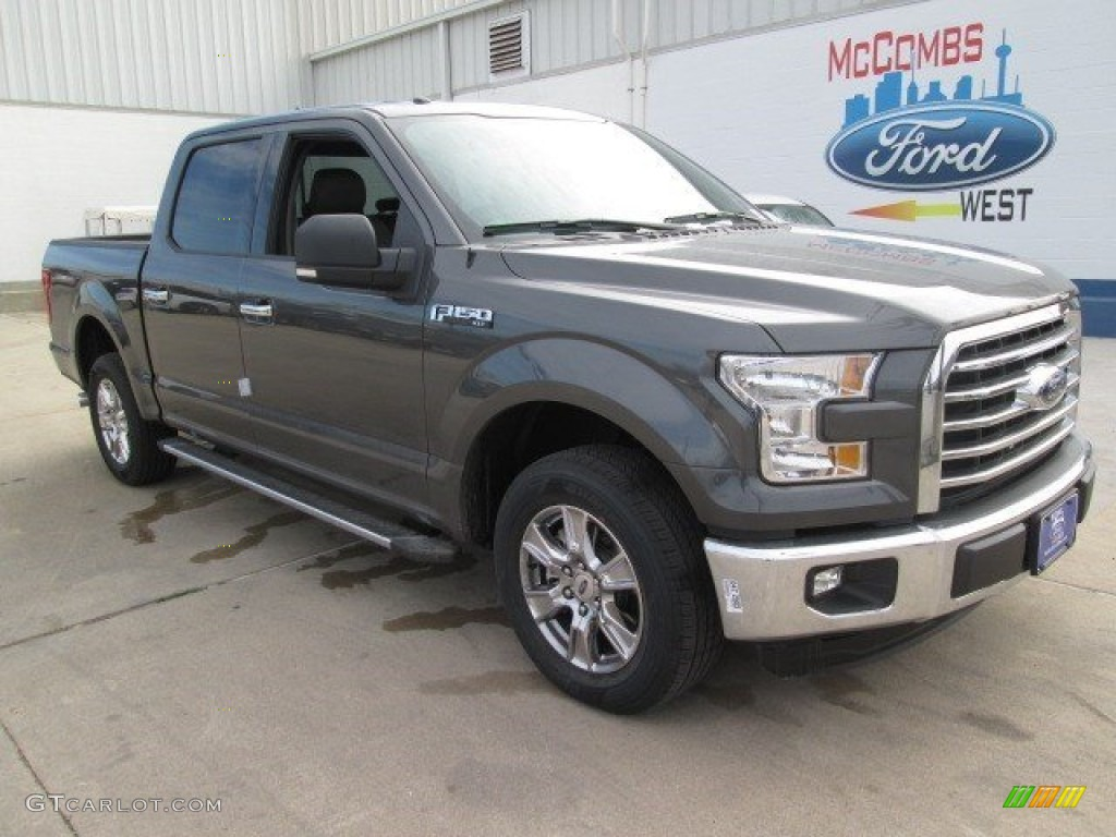 2015 Magnetic Metallic Ford F150 XLT SuperCrew 102241116