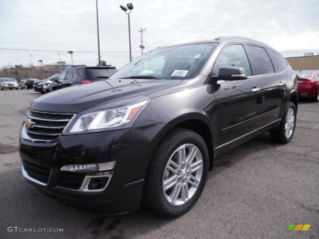 2015 tungsten metallic chevrolet traverse lt awd 102263570 car color galleries for Chevy traverse interior colors