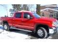 Fire Red 2015 GMC Sierra 2500HD Gallery