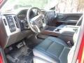 Jet Black/Dark Ash 2015 GMC Sierra 2500HD Interiors