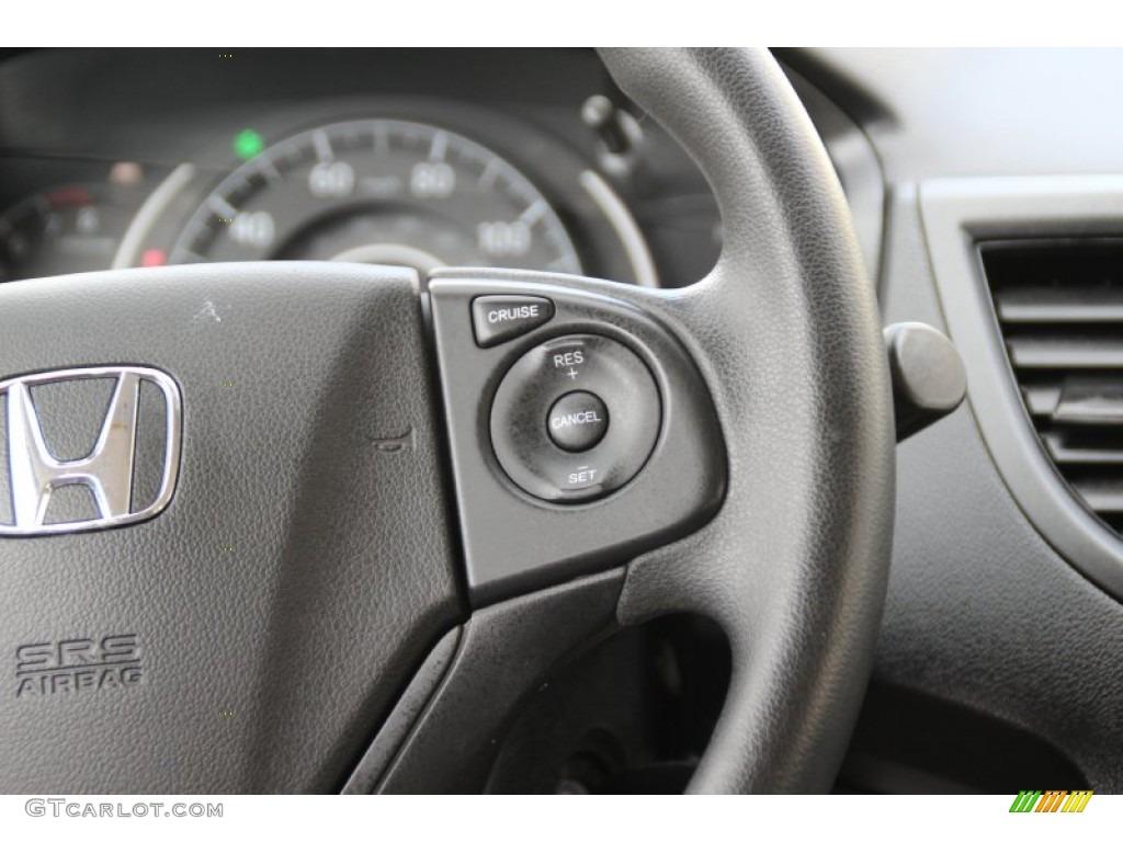 2013 CR-V LX AWD - Basque Red Pearl II / Gray photo #18