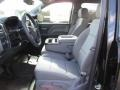 Dark Ash/Jet Black Front Seat Photo for 2015 Chevrolet Silverado 1500 #102281990