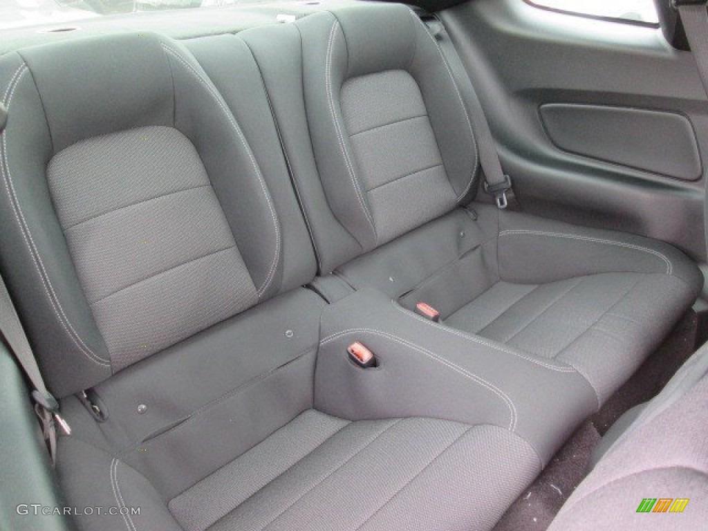 2015 Mustang V6 Coupe - Oxford White / Ebony photo #10