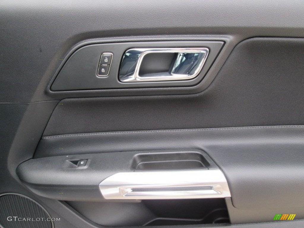 2015 Mustang V6 Coupe - Oxford White / Ebony photo #14