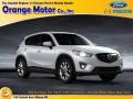 2015 Crystal White Pearl Mica Mazda CX-5 Touring #102308333