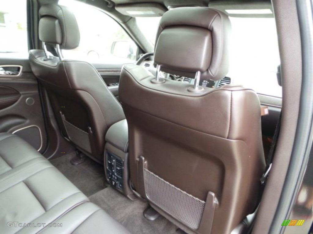 Summit Grand Canyon Jeep Brown Natura Leather Interior 2014 Jeep Grand Cherokee Summit Photo