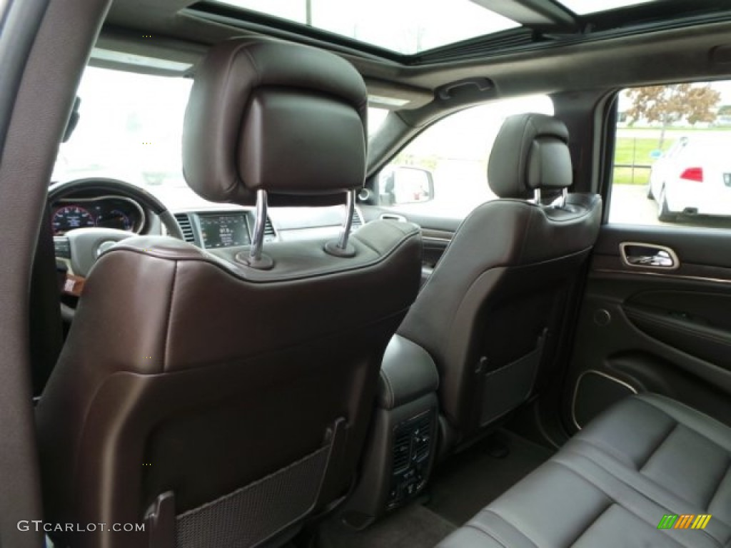 Summit grand canyon jeep brown natura leather interior - 2010 jeep grand cherokee interior ...
