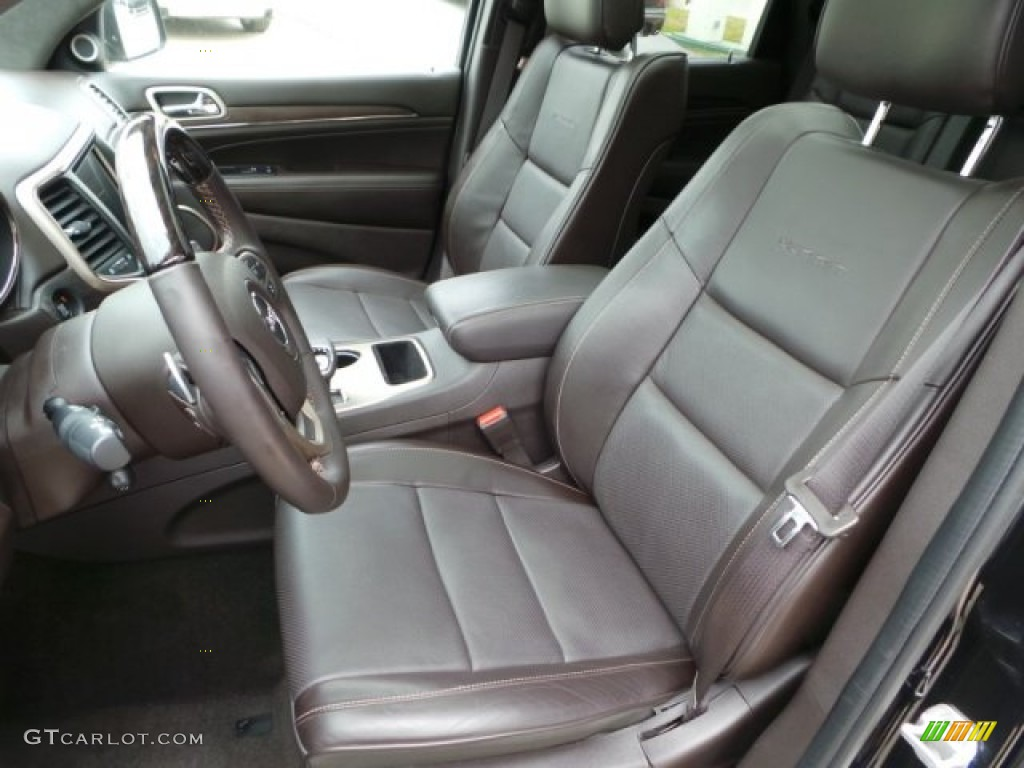 2014 Jeep Grand Cherokee Summit Interior Color Photos