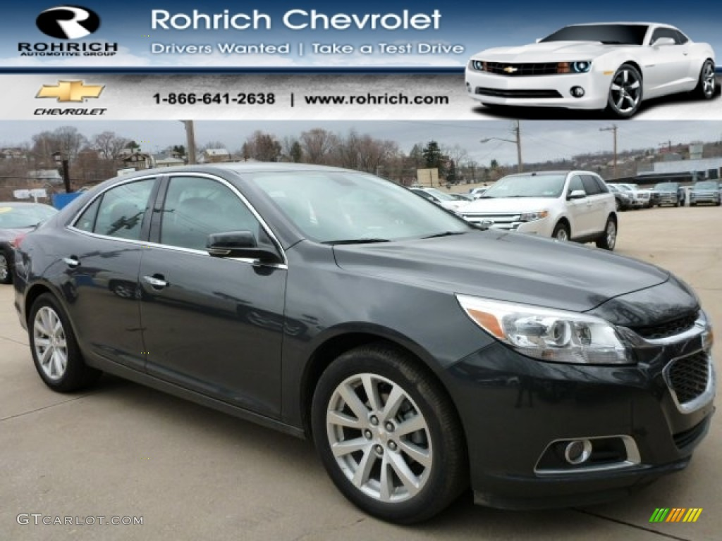 Chevy Vin Decoder >> 2015 Ashen Gray Metallic Chevrolet Malibu LTZ #102308496 | GTCarLot.com - Car Color Galleries