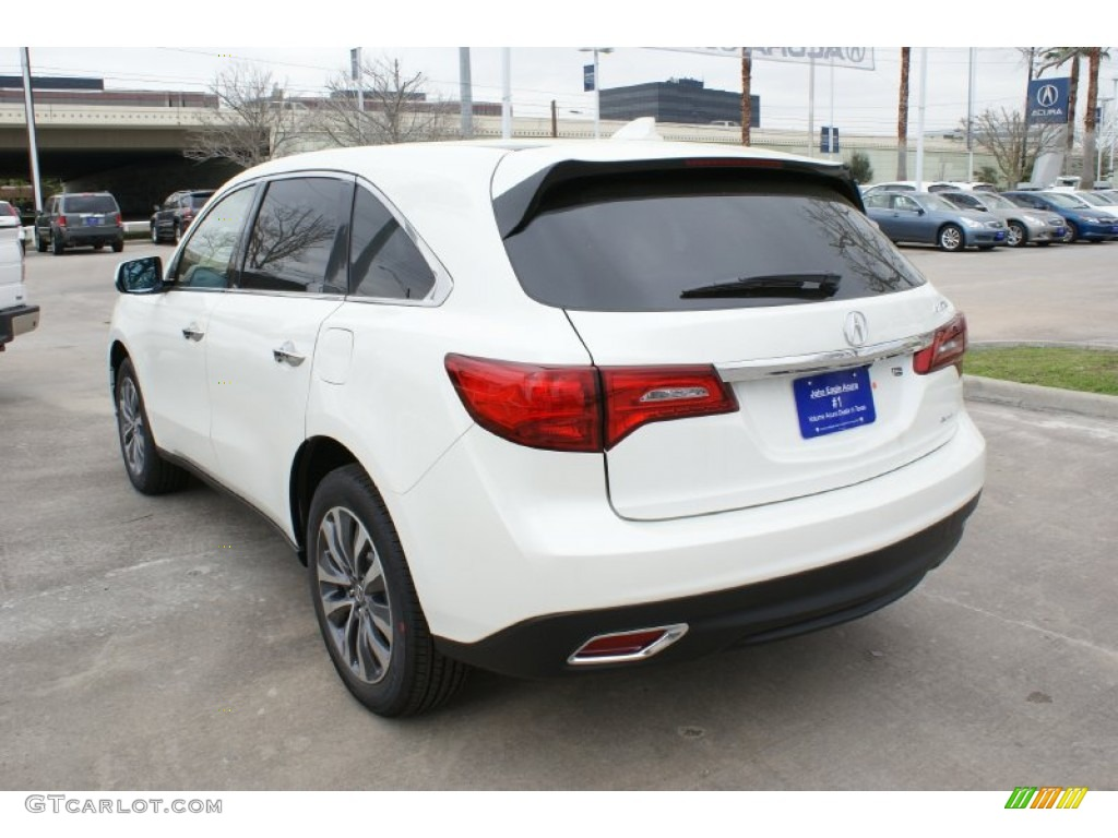2016 white diamond pearl acura mdx sh awd technology. Black Bedroom Furniture Sets. Home Design Ideas