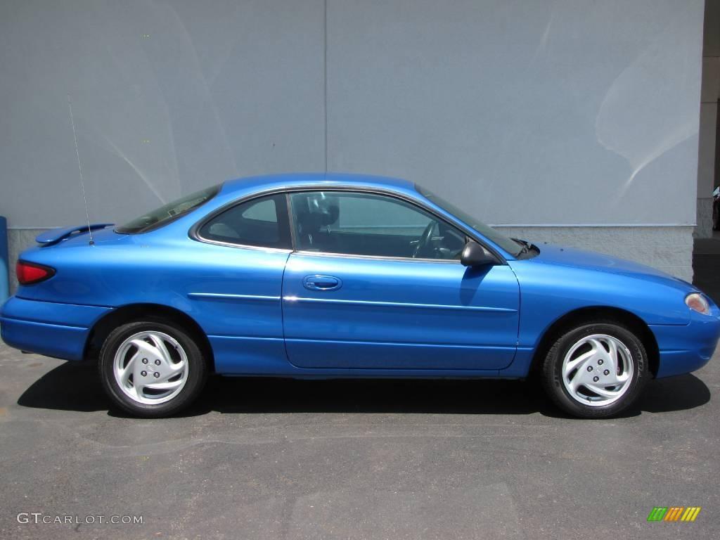 2002 Bright Atlantic Blue Metallic Ford Escort Zx2 Coupe