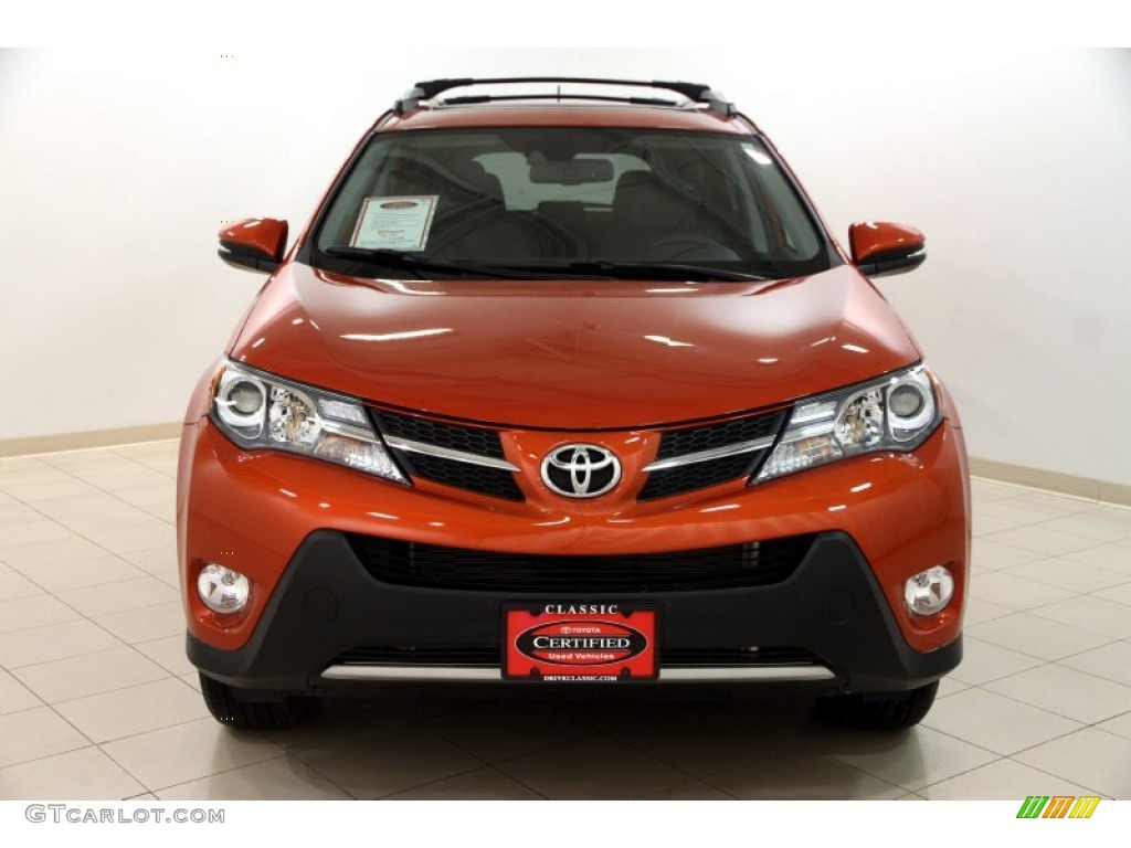 2015 hot lava toyota rav4 limited awd 102308417 photo 2. Black Bedroom Furniture Sets. Home Design Ideas