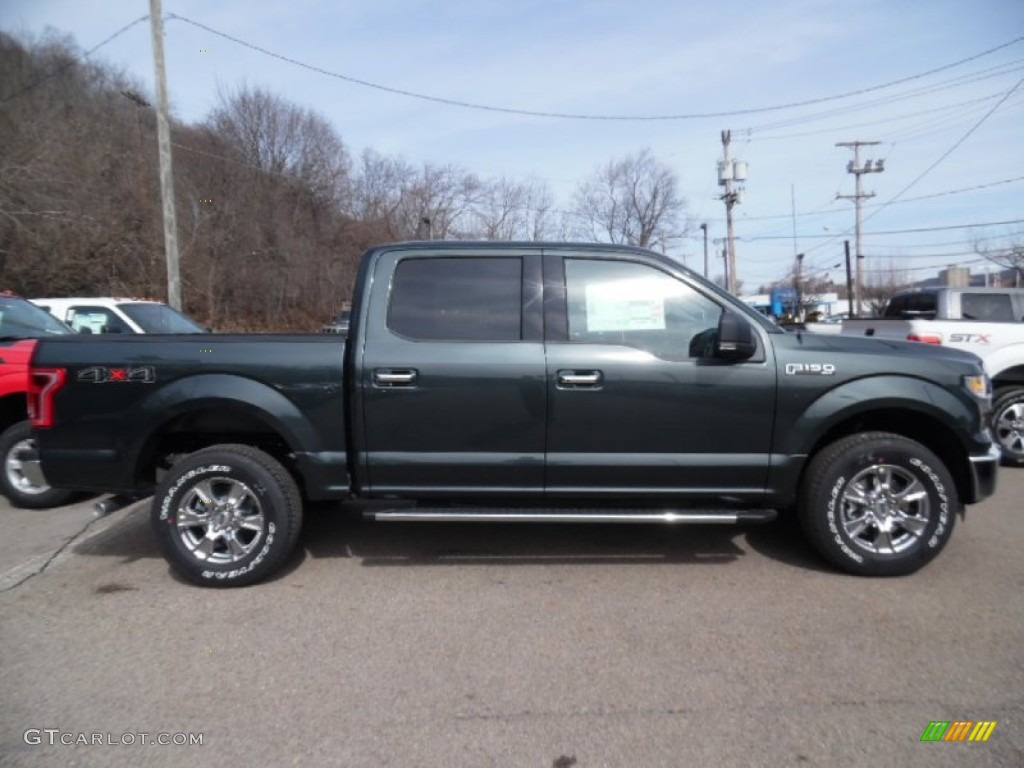 2015 Guard Metallic Ford F150 XLT SuperCrew 4x4 102342955