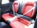 2015 Ford Mustang Red Line Interior Rear Seat Photo