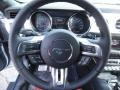 2015 Ford Mustang Red Line Interior Steering Wheel Photo