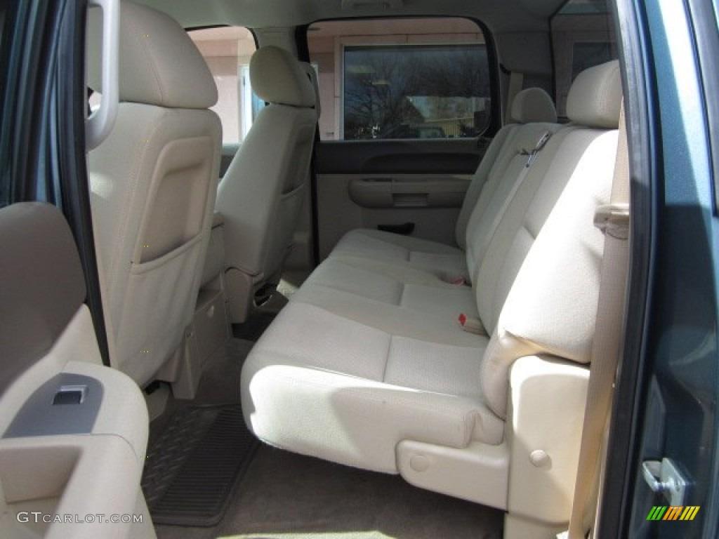 2012 Silverado 1500 LT Crew Cab 4x4 - Imperial Blue Metallic / Light Cashmere/Dark Cashmere photo #8