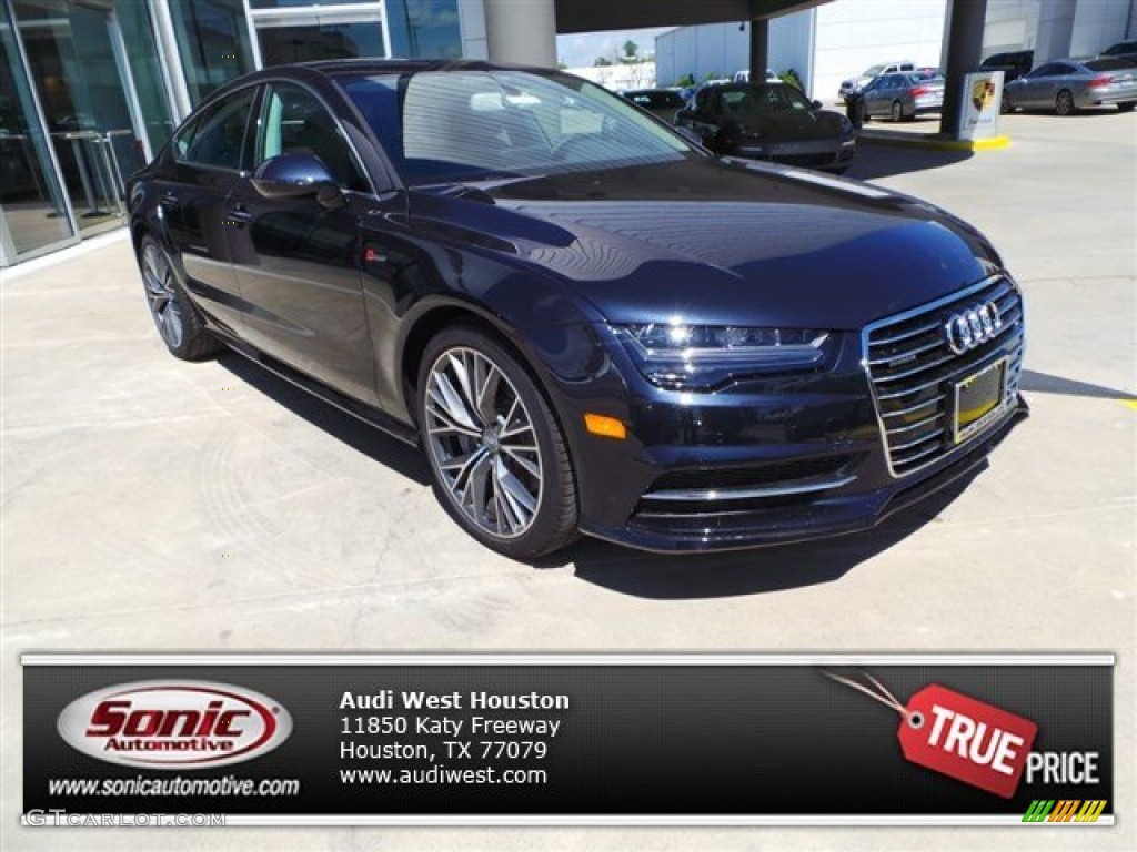 2016 moonlight blue metallic audi a7 3 0 tfsi premium plus quattro 102343144. Black Bedroom Furniture Sets. Home Design Ideas