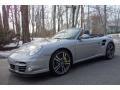 2011 GT Silver Metallic Porsche 911 Turbo S Cabriolet #102378570