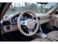 Sand Beige Steering Wheel Photo for 2012 Porsche 911 #102388928