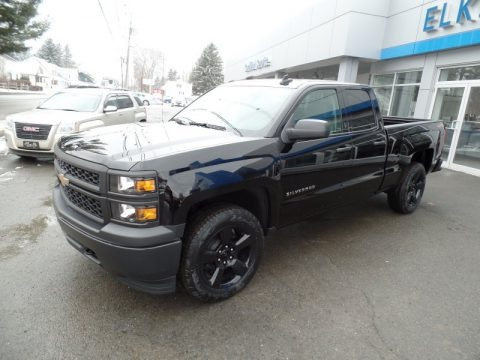 2015 Chevrolet Silverado 1500 WT Crew Cab 4x4 Black Out Edition Data, Info and Specs
