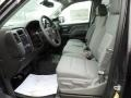 Dark Ash/Jet Black Front Seat Photo for 2015 Chevrolet Silverado 1500 #102392513