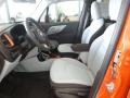 Front Seat of 2015 Renegade Latitude 4x4