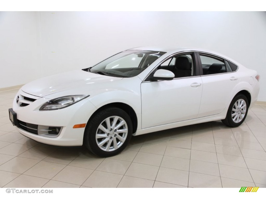 White Platinum Pearl 2012 Mazda Mazda6 I Touring Sedan Exterior Photo 102407330 Gtcarlot Com