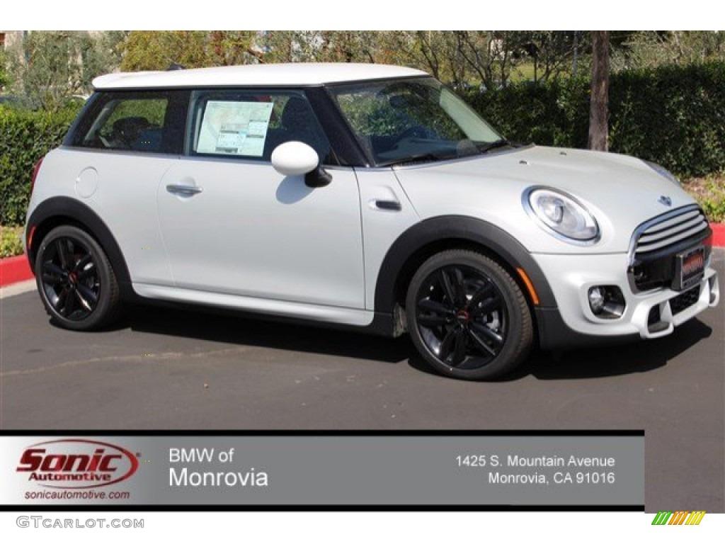 Interior Mini Cooper 2017 >> 2015 White Silver Metallic Mini Cooper Hardtop 2 Door #102378811 | GTCarLot.com - Car Color ...