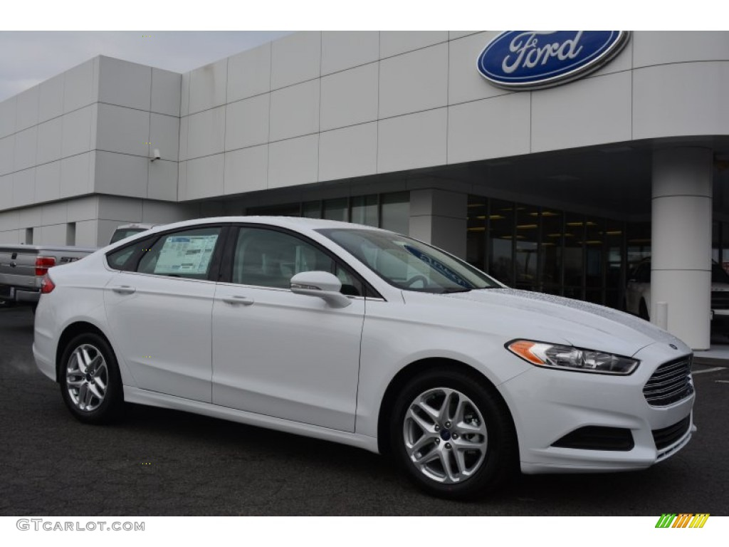 2015 oxford white ford fusion se 102439190 car color galleries. Black Bedroom Furniture Sets. Home Design Ideas