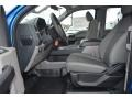 Medium Earth Gray Front Seat Photo for 2015 Ford F150 #102441598