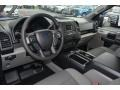 Medium Earth Gray 2015 Ford F150 Interiors