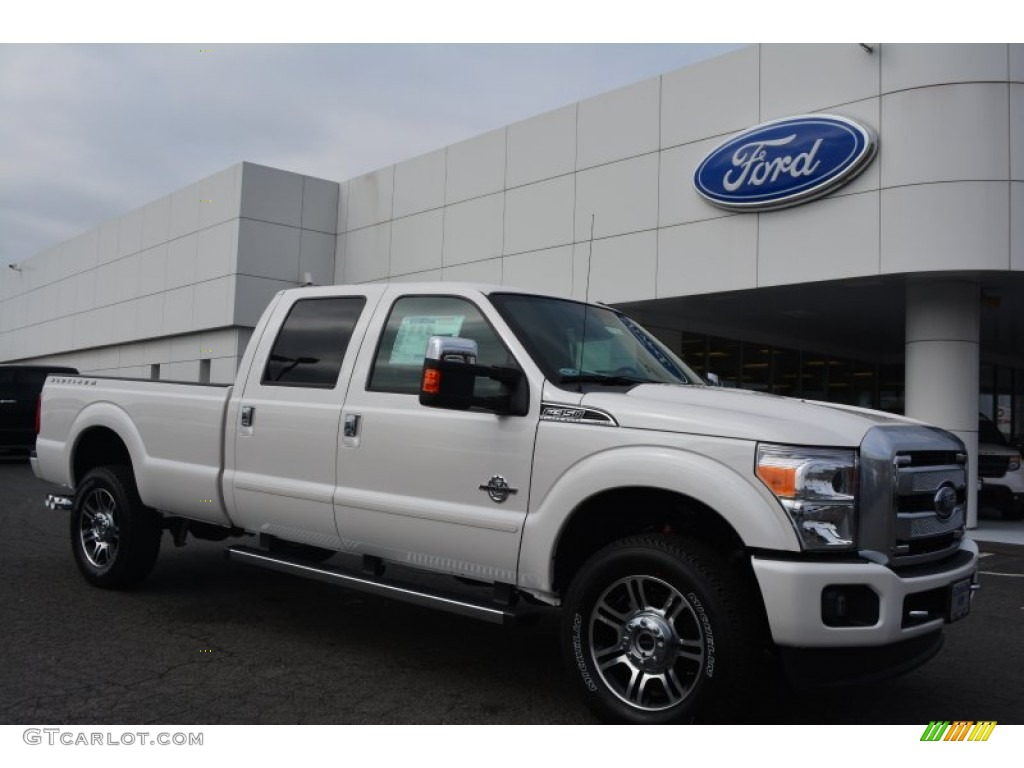 2015 white platinum ford f350 super duty platinum crew cab 4x4 102439185 car. Black Bedroom Furniture Sets. Home Design Ideas