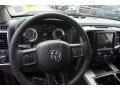 2015 Ram 1500 Black Interior Steering Wheel Photo