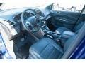 2014 Deep Impact Blue Ford Escape Titanium 2.0L EcoBoost 4WD  photo #5