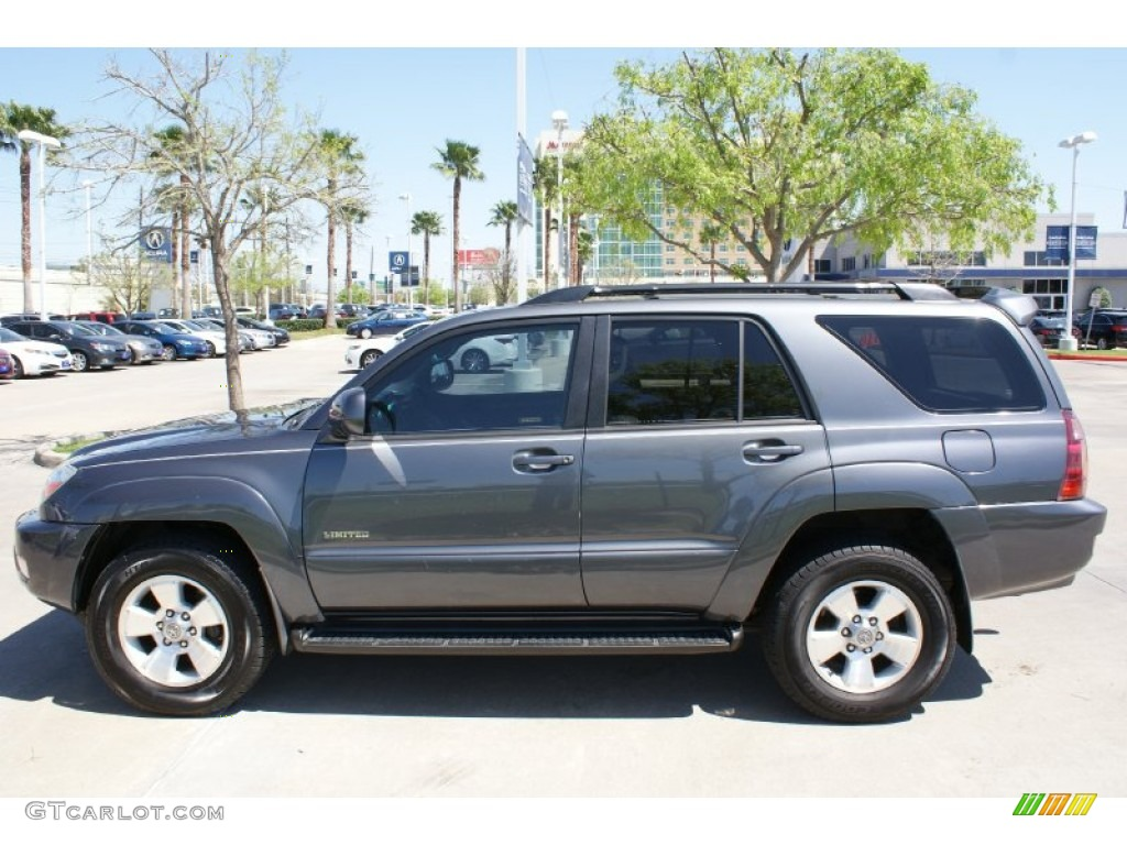 Galactic Gray Mica 2005 Toyota 4runner Limited Exterior
