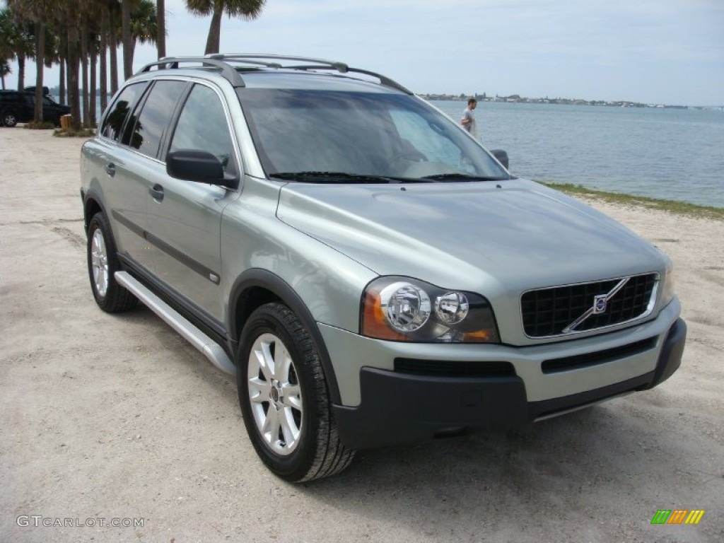 2003 volvo xc90 interior. crystal green metallic volvo xc90 2003 xc90 interior