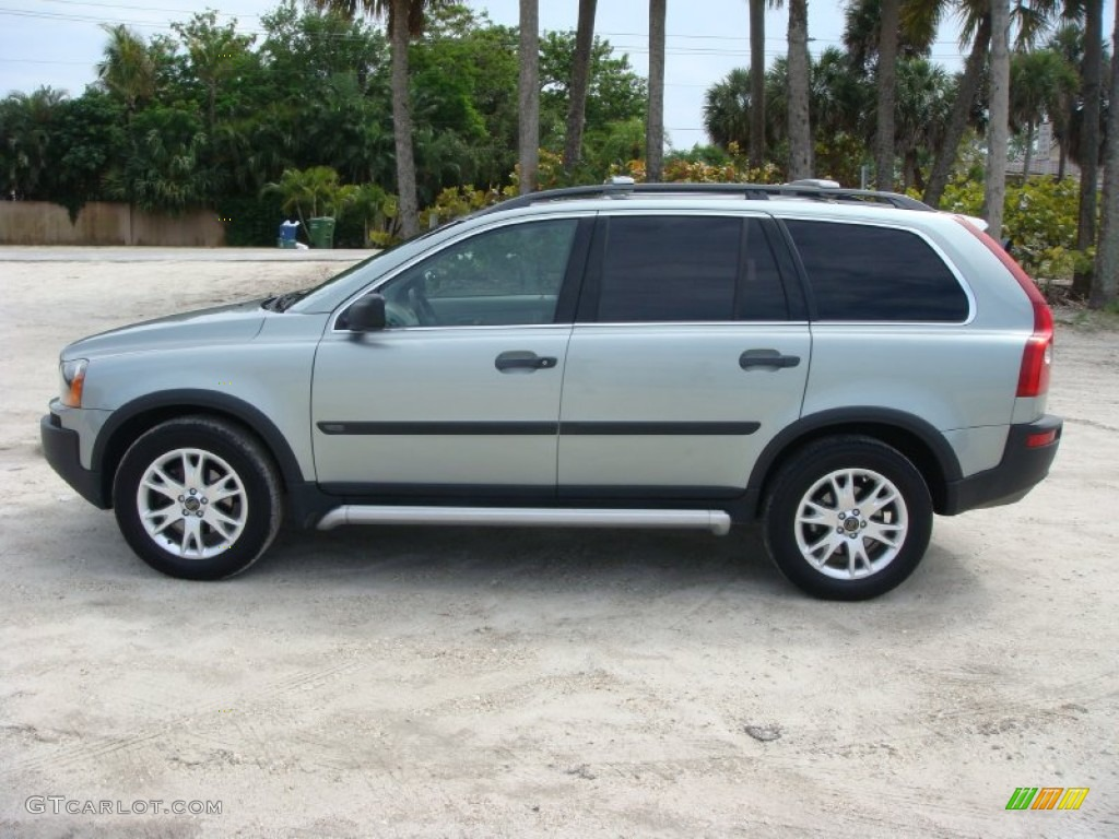 Crystal green metallic 2003 volvo xc90 t6 awd exterior photo 102464843