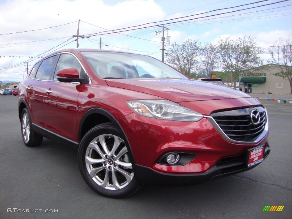 2013 zeal red mica mazda cx 9 grand touring 102469802 car color galleries. Black Bedroom Furniture Sets. Home Design Ideas