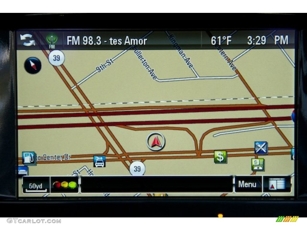 2013 Chevrolet Volt Standard Volt Model Navigation Photos