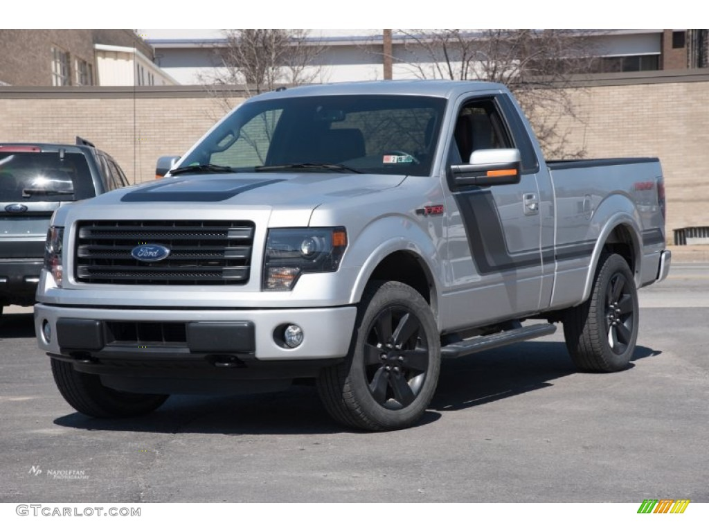 2014 ingot silver ford f150 fx4 tremor regular cab 4x4 102469623 car color. Black Bedroom Furniture Sets. Home Design Ideas