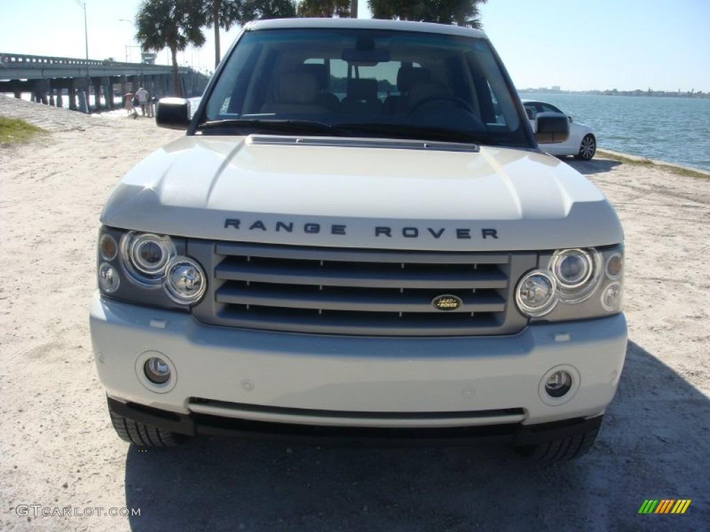 2006 Range Rover HSE - Chawton White / Ivory/Aspen photo #2