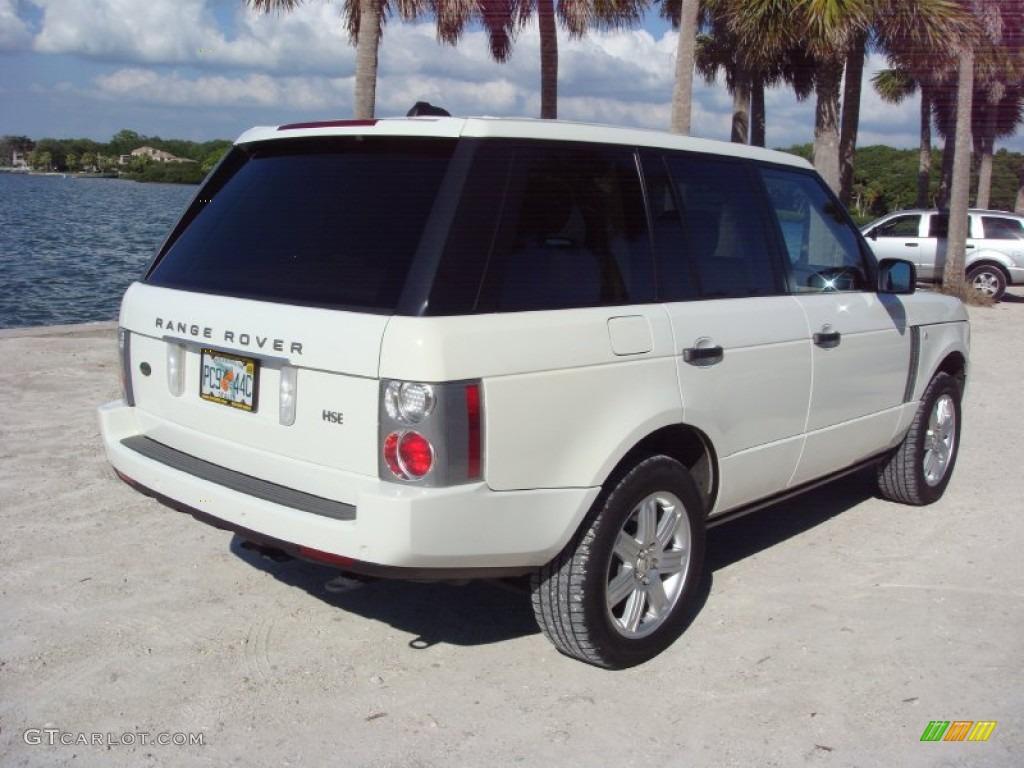 2006 Range Rover HSE - Chawton White / Ivory/Aspen photo #7
